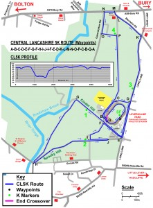 CL5K Route Map